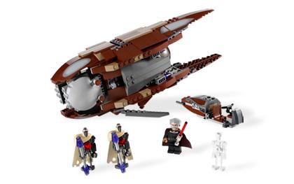 Count Dooku's Solar Sailer 7752