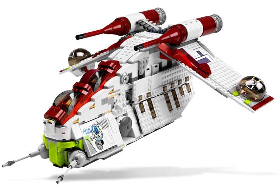 Republic Attack Gunship 7676